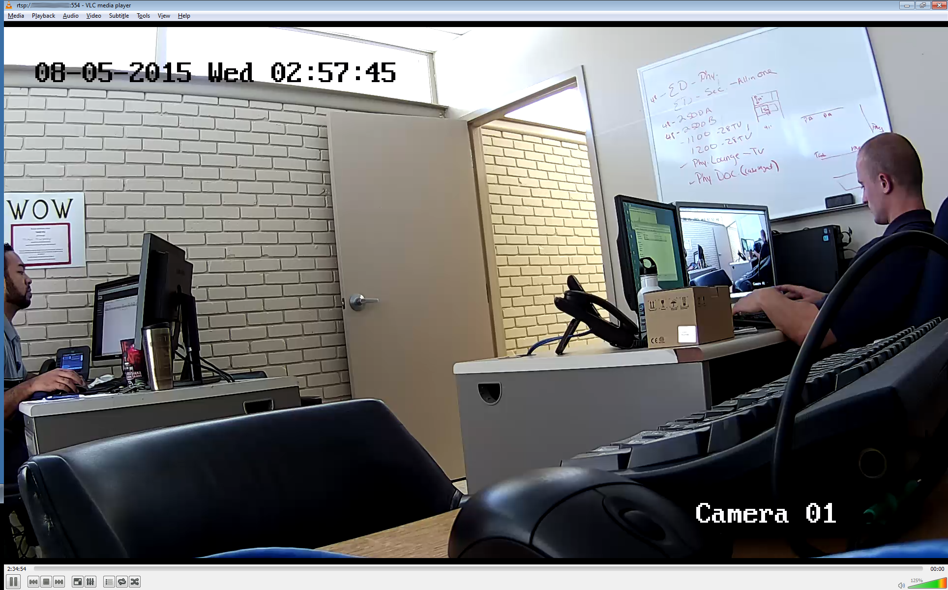 Use VLC to view RTSP stream from LaView LV-PB932F4 IP Camera
